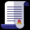 62f7164e08e7f57c7a8846b6bc6cf890-graduation-certificate-icon-by-vexels[1]